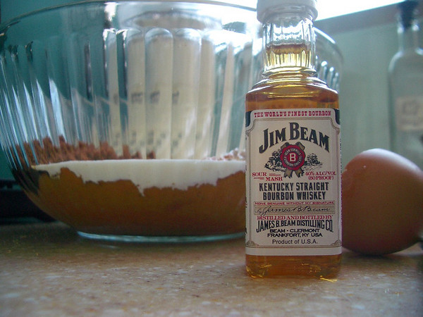 A sample sized bottle of Jim Beam for only NT$55 at Jasons